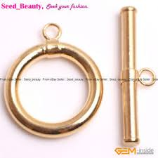Toggle Clasps For Jewelry Making - 15mm yellow gold plated toggle clasps jewelry making clasps ebay