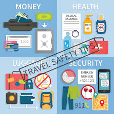 travel safety images Travel safety tips stock vector illustration of rule 75147622 jpg