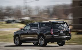 gmc yukon trunk space 2017 gmc yukon yukon xl cargo space and storage review car and