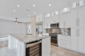 Kitchens With White Granite Countertops - bianco antico granite countertops pictures cost pros and cons