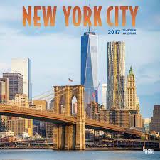 Wall Calendar Organizer New York City Calendar 2017 Calendars Pinterest Calendar 2017