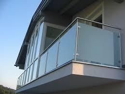 balkon metall balkon mit milchglas hillerzeder
