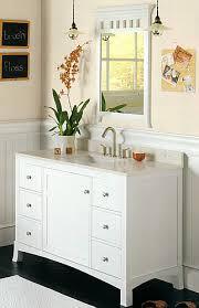 hampton bathroom vanities in white