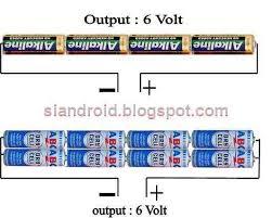 cara membuat powerbank menggunakan baterai abc cara buat charge hp darurat dari baterai kecil aa dunia android