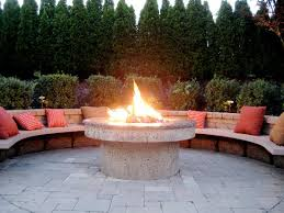 Firepit Outdoor Outside Pit Illionis Home