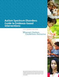 evidence based interventions for autism spectrum disorders by