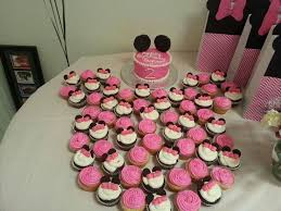 Red Minnie Mouse Cake Decorations 61 Best Minnie Birthday Party Images On Pinterest Minnie