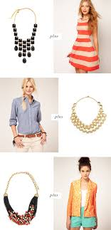 wear statement necklace images How to wear a statement necklace pinegate road jpg