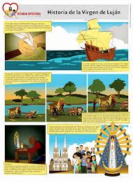 imagenes de virgen maria infantiles vicaría para niños historia de la virgen de lujan dibujo