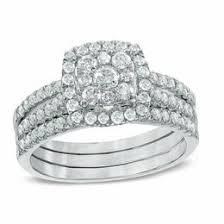 white gold wedding ring sets bridal sets wedding zales