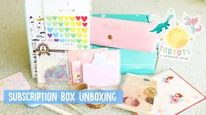 House Beautiful Subscription by Todtots Whimsical Subscription Box August 2017 Youtube