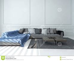 Wohnzimmer Skandinavisch Einrichten Graue Wand Weiße Couch Faszinierend Auf Dekoideen Fur Ihr Zuhause