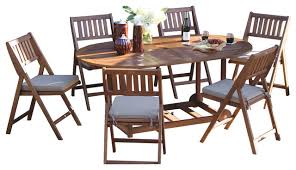 Folding Patio Dining Set Fancy Folding Patio Table And Chairs Best Outdoor Folding Table