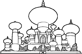 aladdin agrabah coloring pages google search aladdin jr
