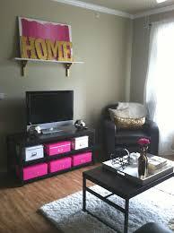 pink and orange living room decor gold glitter letters pink