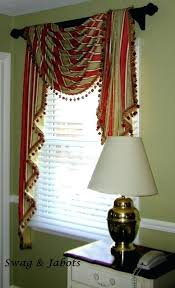 Curtains Valances And Swags Swag Bedroom Curtains Unique Design Window Valances For Living