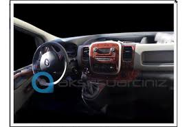 renault van interior renault traffic 01 2011 interior dashboard trim kit dashtrim 16 parts