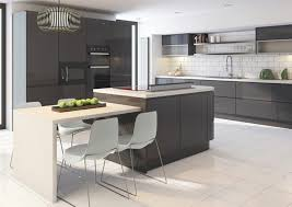 meubles cuisine design cuisine gris anthracite 56 idées pour une cuisine chic et moderne