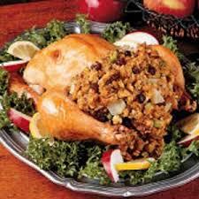 apple stuffed chicken recipe taste of home