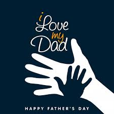 greeting card with nice message of father u0027s day vector free download