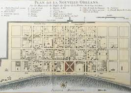 prevost floor plans 1757 bellin antique map plan of the city of new orleans