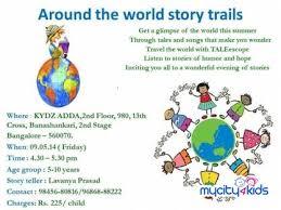 taleescope around the world story trails in banashankari