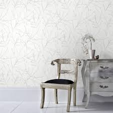 white botanical wallpaper wallpaper u0026 borders the home depot