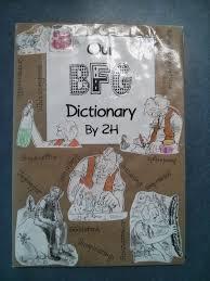 the bfg dream jars dictionary and a freebie