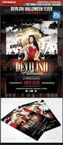 devilish halloween glamour flyer template by sangraphics