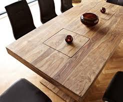 Esszimmertisch Industriedesign Esstisch Holz Massiv Metall Carprola For