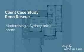 reno rescue modernising a sydney brick home