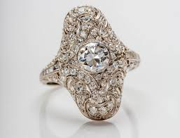 the history of the diamond as an engagement ring american gem