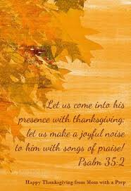 happy thanksgiving give thanks to jesus for giving us another