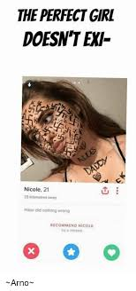 Perfection Girl Meme - the perfect girl doesnt ex nicole 21 23 kilometres away hitler