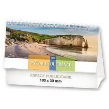 chevalet de bureau calendrier chevalet illustré paysages de en