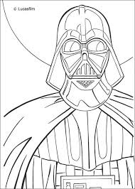 star wars coloring pages darth vader kids coloring