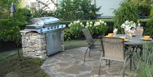 Outdoor Kitchen Designs  Ideas Landscaping Network - Backyard bbq design