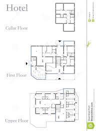 good guest house building plans hotel drawing plan white cool