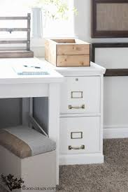 gray wood file cabinet how to paint a filing cabinet the wood grain cottage
