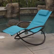 Rocking Chair Outdoor Furniture Orbital Foldable Zero Gravity Lounge Chair Furniture Outdoor