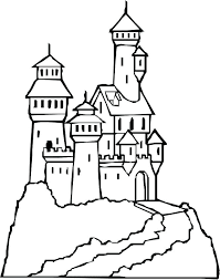 Castle Coloring Pages Castle Coloring Pages Elegant Castle Sandcastle Coloring Page