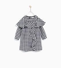 Gingham Vs Plaid Vs Tartan Gingham Dress Collection Zara United States