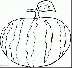 incredible fruits and vegetables coloring pages with watermelon