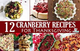 12 cranberry recipes for thanksgiving baby gizmo