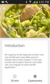 cuisine cookeo recette cookeo android apps on play
