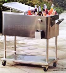 Outdoor Patio Cooler Cart by 100 Patio Ice Chest Admir Picnic Tables With Built In Ice