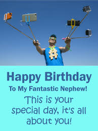 happy birthday cake card for nephew birthday u0026 greeting cards by