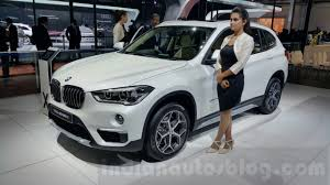 car bmw x1 2016 bmw x1 front three quarter at the auto expo 2016 indian