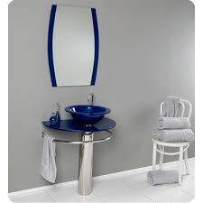 Chrome Bathroom Vanity by 30 Inch Wall Mounted Single Chrome Metal Pedestal Bathroom Vanity