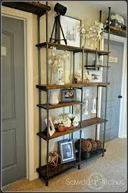 Locker Bookshelf Remodelaholic Industrial Style Mudroom Locker System